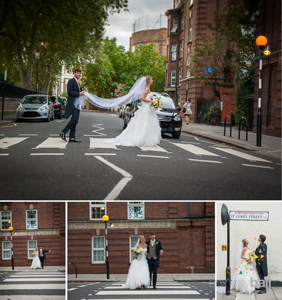Pedestrian Crossing Chelsea-Wedding-Photography