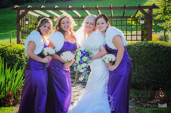 Violet Bridesmaids dresses