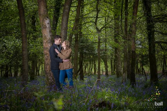 Pre-wedding shoot in Bluebells
