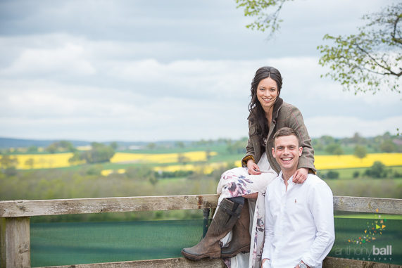 Pre-wedding shoot herefordshire