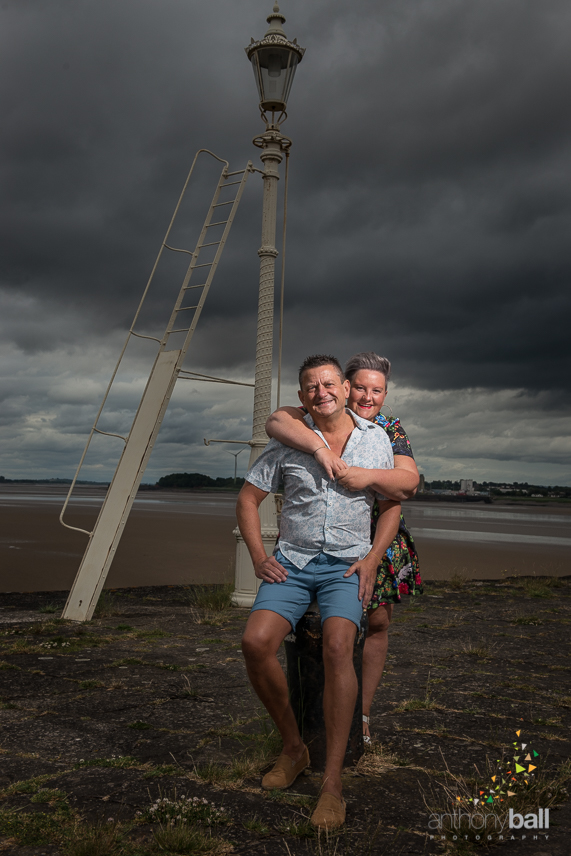 Pre-wedding photoshoot at Lydney Harbour